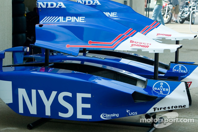 Des pièces IndyCar
