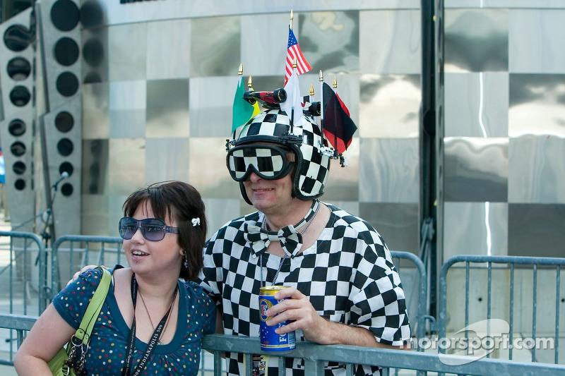 Des fans des Indy 500