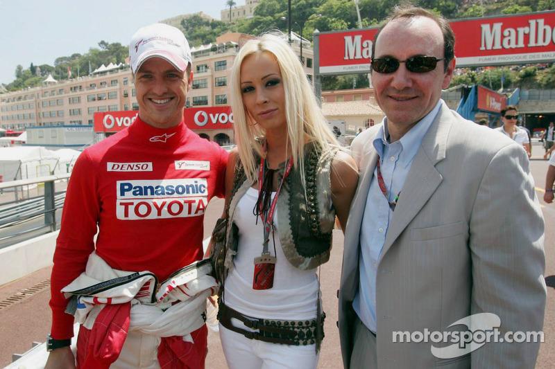 Ralf Schumacher, Cora Schumacher et Kevin Spacey