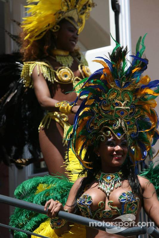 Bailarinas brasileñas