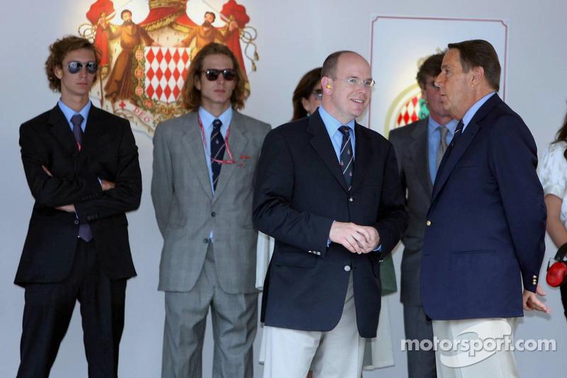 El príncipe Alberto II de Mónaco