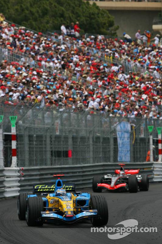 Fernando Alonso y Kimi Raikkonen