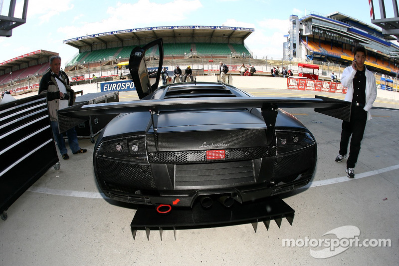 Arrière de la Jloc Isao Noritake Lamborghini Murcielago
