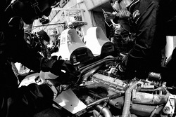Intersport Racing team members at work