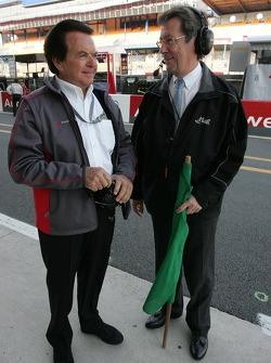 Reinhold Joest and Daniel Poissonot