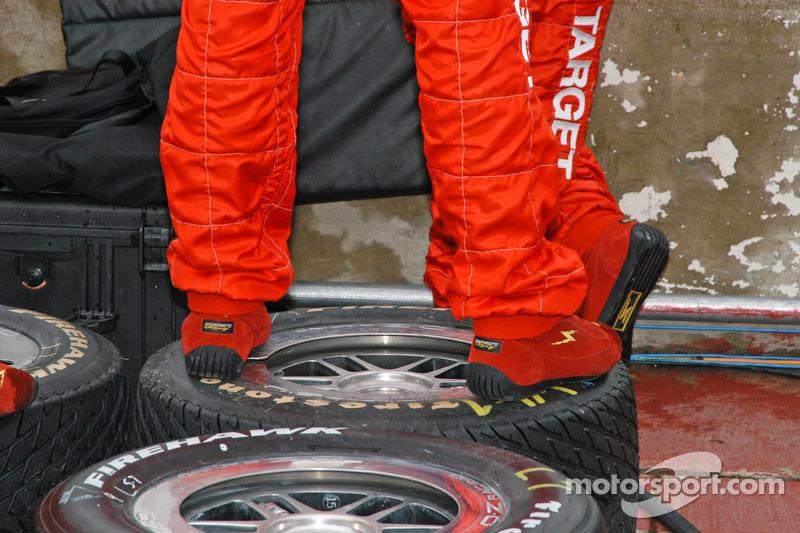 Stand de pneu