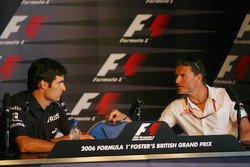 Thursday FIA press conference: Mark Webber and David Coulthard