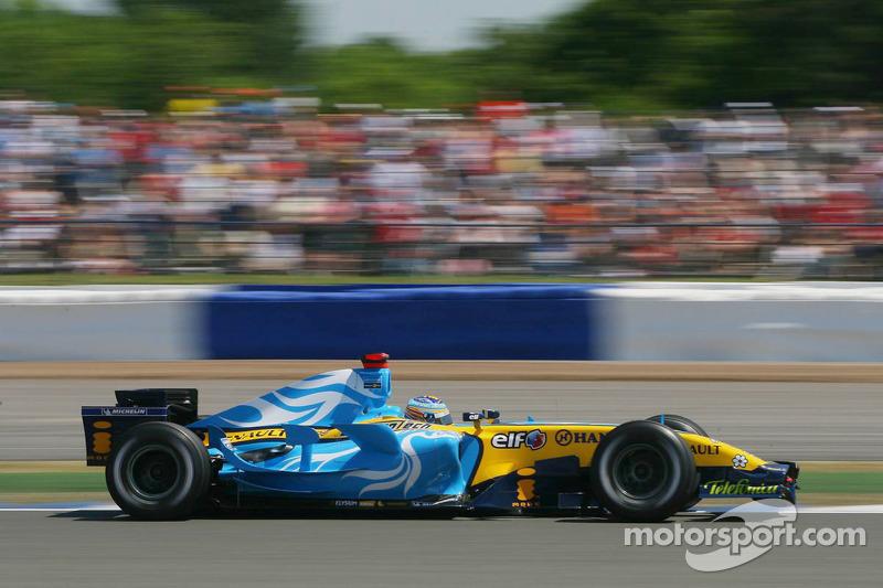 Ganador del Gran Premio de Gran Bretaña de F1 2006:  Fernando Alonso (Renault R26)