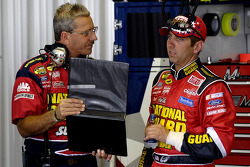 Crew Chief Doug Richert and Greg Biffle