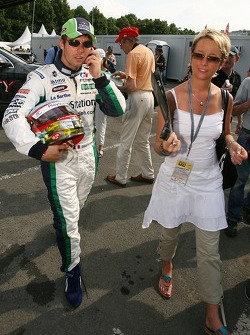Sébastien Loeb with wife Séverine