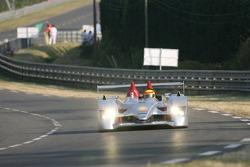 #8 Audi Sport Team Joest Audi R10: Marco Werner, Frank Biela, Emanuele Pirro