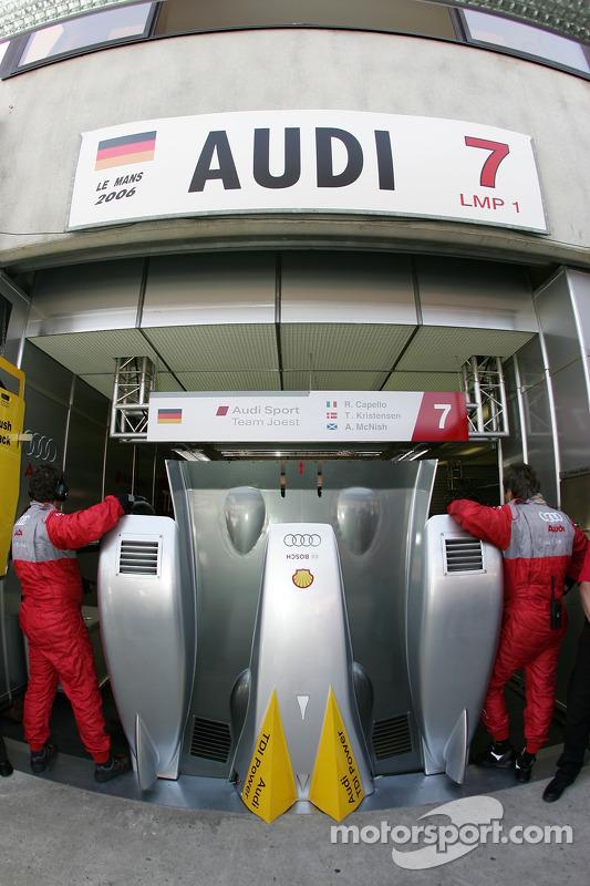 Rien à voir chez Audi