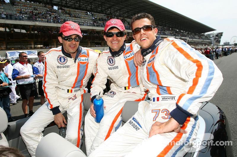 Yves Lambert, Christian Lefort, Romain Iannetta