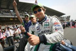 Franck Montagny, Éric Hélary and Sébastien Loeb