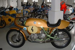 A BMW motorcycle
