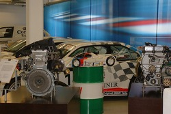 Johnny Cecotto's BMW touring car on display