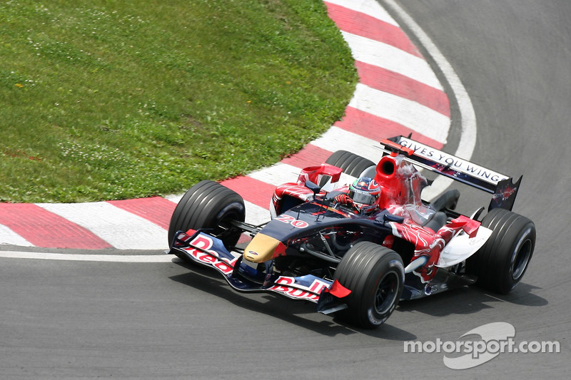 2006 : Toro Rosso STR1, à moteur Cosworth