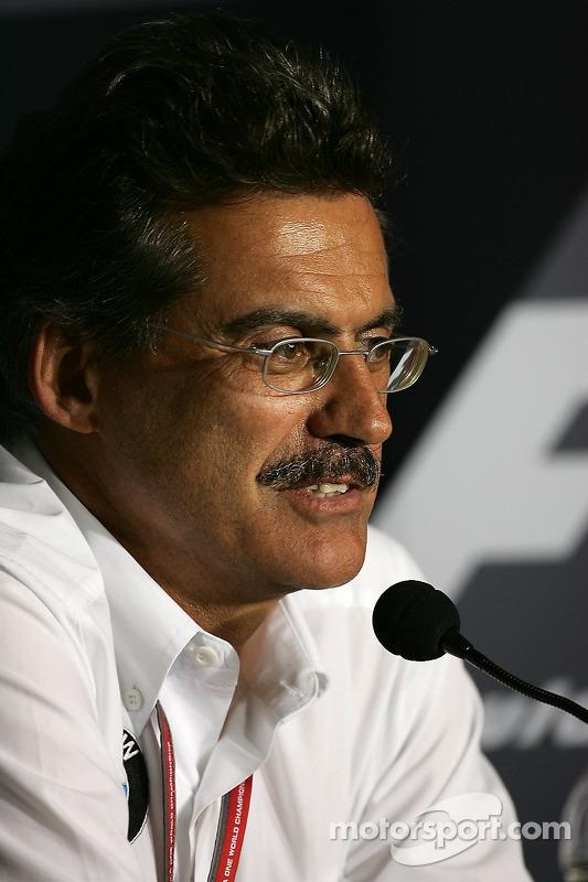 Conférence de presse de la FIA: Dr. Mario Theissen