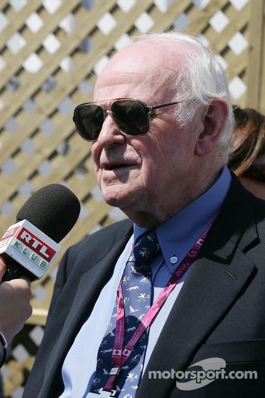 Professor Sid Watkins, l'ancien médecin de la FIA