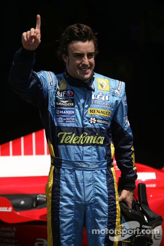 Fernando Alonso obtient la pole position