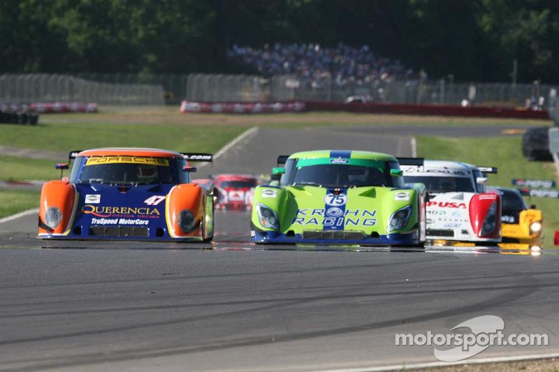 #47 TruSpeed Motorsports Porsche Riley: Rob Morgan, Charles Morgan, #75 Krohn Racing Ford Riley: Tracy Krohn, Nic Jonsson