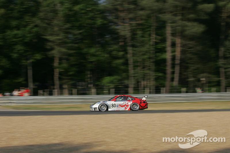 #80 Flying Lizard Motorsports Porsche 911 GT3 RSR: Johannes van Overbeek, Seth Neiman, Patrick Long