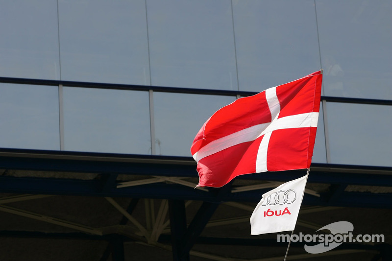 Un drapeau Audi