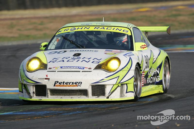 #90 White Lightning Racing Porsche 911 GT3 RSR: Jorg Bergmeister, Tracy Krohn, Nic Jonsson