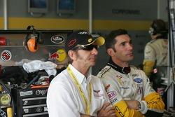 Max Papis and Emerson Fittipaldi
