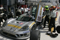 #66 ACEMCO Motorsports Saleen S7R in the pits