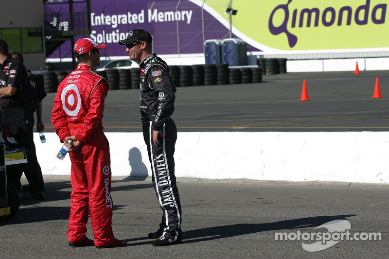Reed Sorenson et Clint Bowyer