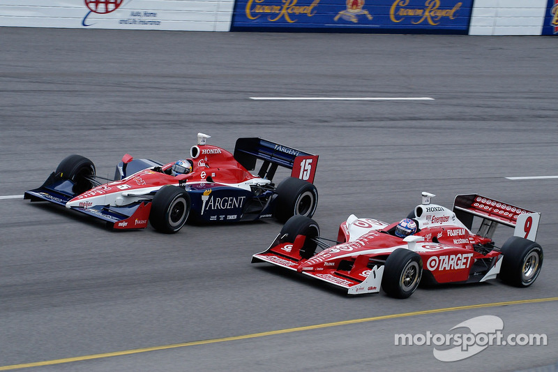 Buddy Rice et Scott Dixon en vitesse