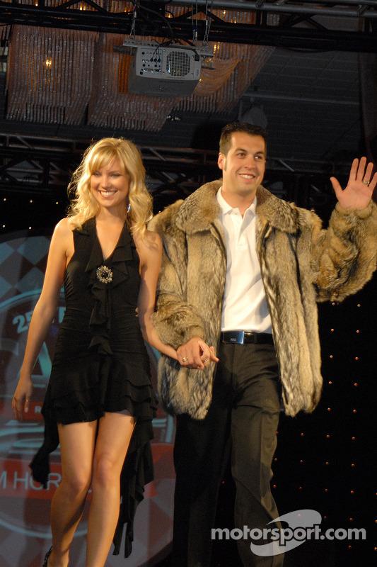 Crystal et Sam Hornish Jr.