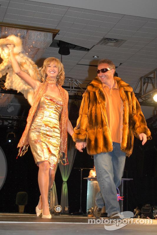 Diana Hubbard et Vince Welch