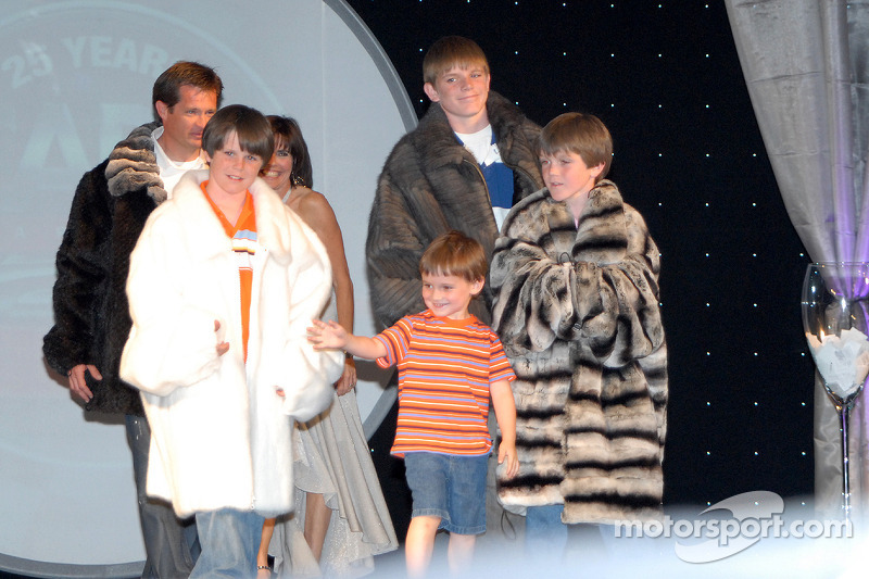 Doug et Beth Boles avec leurs fils Conor, Colin, Christian et Carter