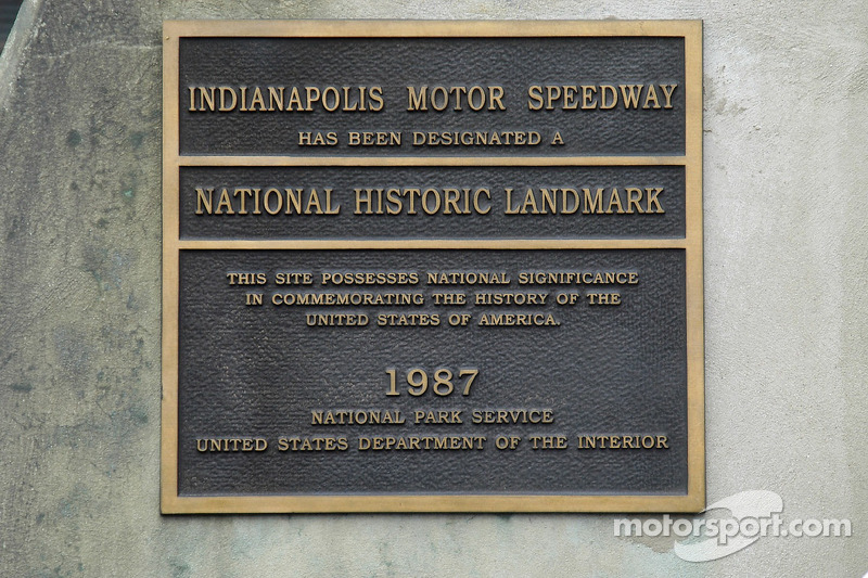 Le National Park Service reconnaît le statut historique du Speedway. Le Speedway est plus ancien que