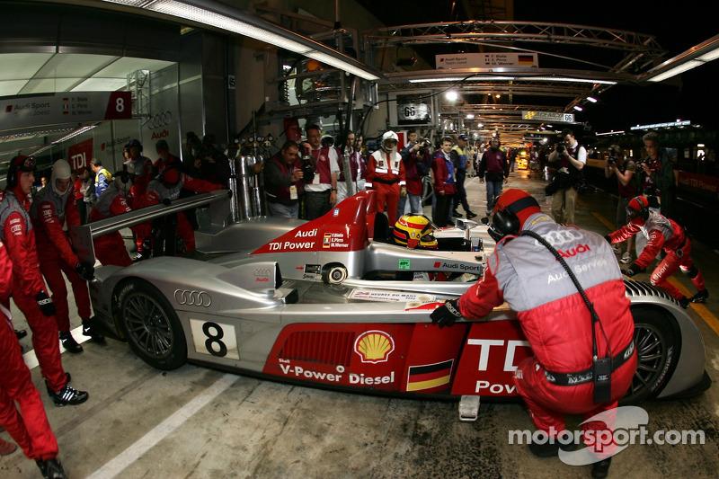 Frank Biela im Audi R10 TDI