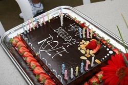 Ralf Schumacher's birthday cake
