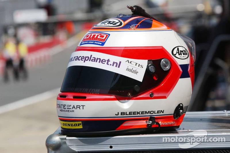 Nouveau casque pour Jeroen Bleekemolen