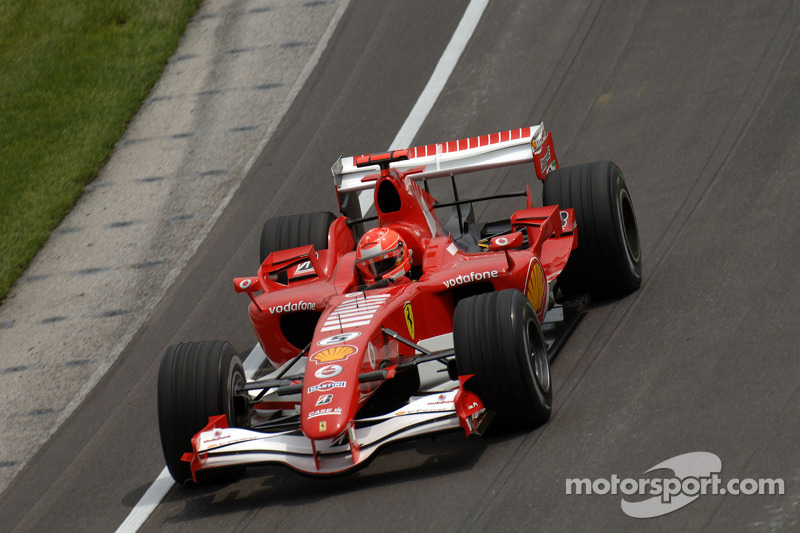 2006 (Indianapolis): Michael Schumacher (Ferrari 248 F1)