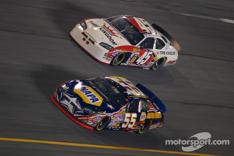 Michael Waltrip et Kyle Petty