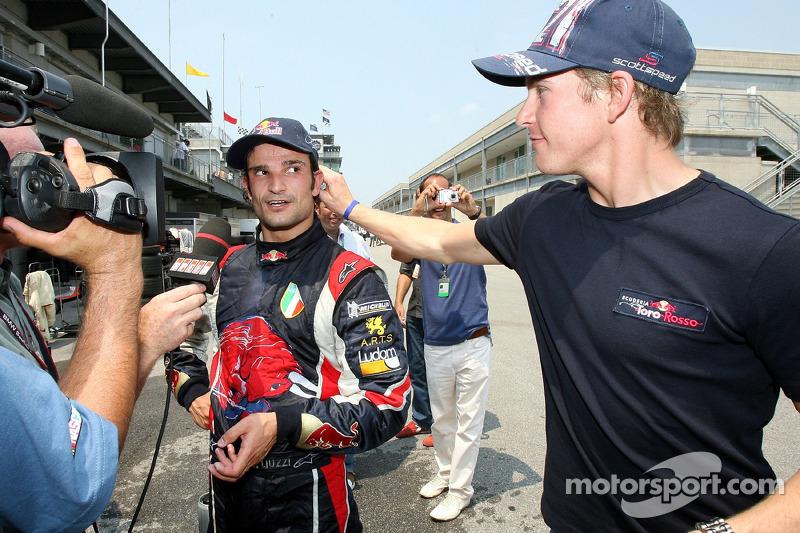 Vitantonio Liuzzi et Scott Speed