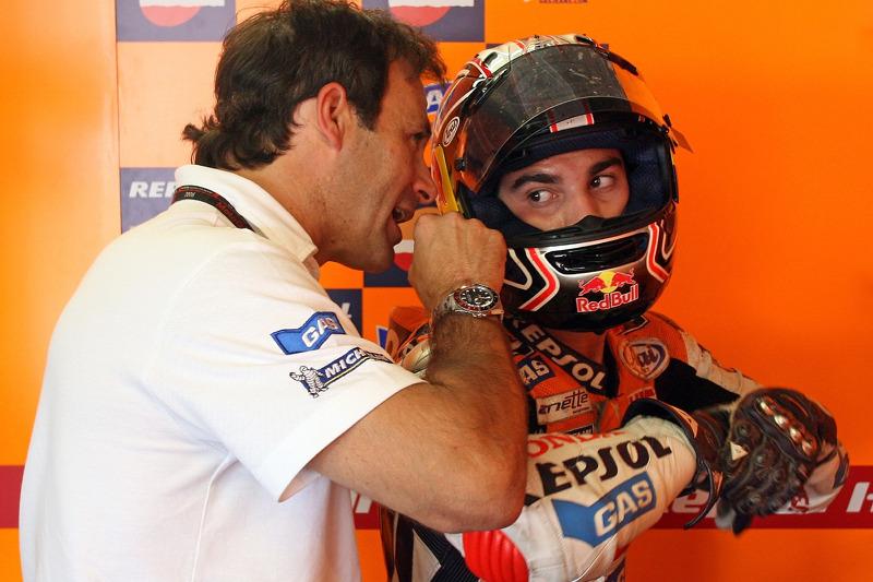 Alberto Puig y Dani Pedrosa