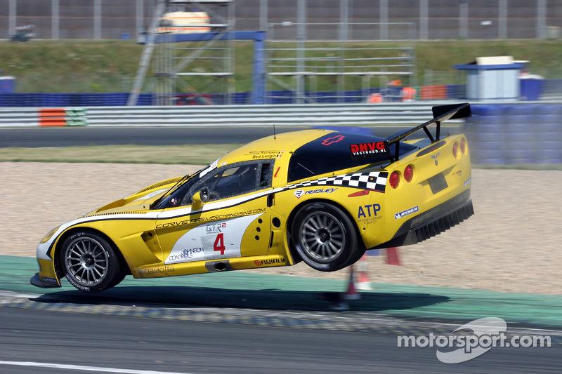 #4 GLPK Racing Corvette C6R: Bert Longin, Anthony Kumpen, Mike Hezemans vont aéroporter