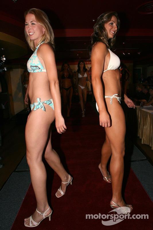 Compétition de maillots de bain