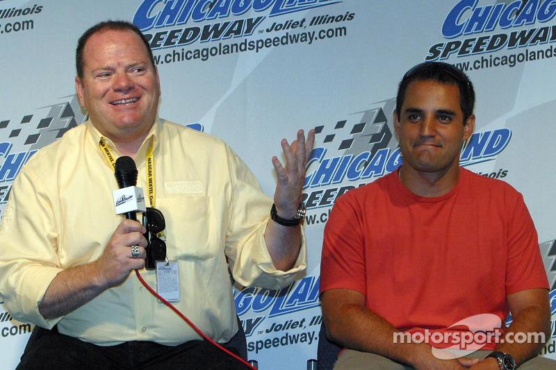 ... nur eine Woche später der Wechsel zu Chip Ganassi in die NASCAR.