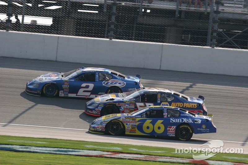 Trois grandes courses avec Jeff Green, Michael Waltrip et Kurt Busch