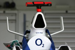 BMW Sauber also now running with bull horns, similar to McLaren