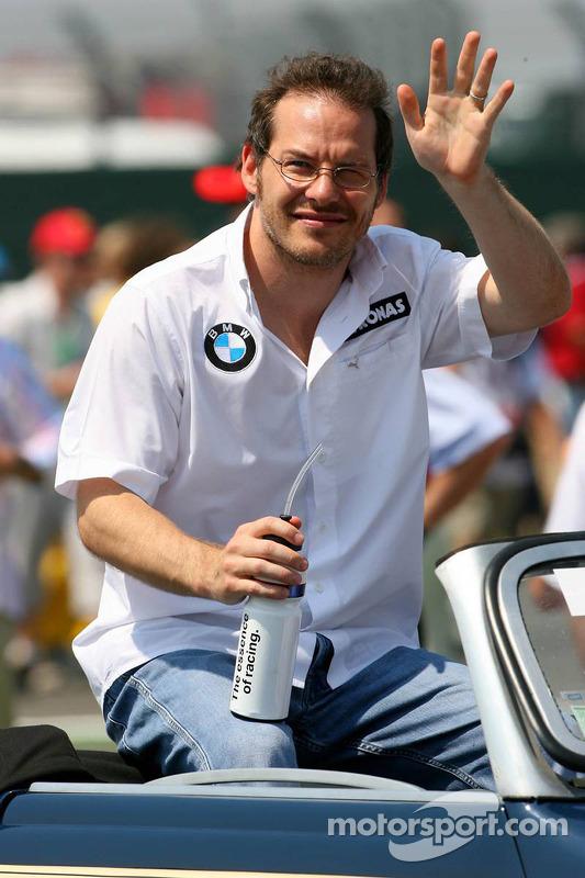 Parade des pilotes : Jacques Villeneuve