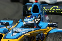 Second place for Fernando Alonso